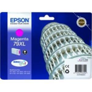 Atrament Epson C13T79034010 magenta 79XL WF5000