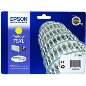 Atrament Epson C13T79044010 yellow 79XL WF 5000