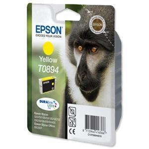 Atrament Epson T0894 yellow C13T08944010