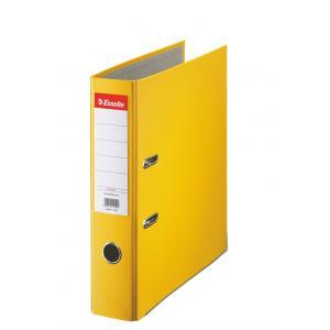 Pákový zakladač Economy 7,5cm žltý