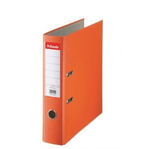 Pákový zakladač Economy 7,5cm oranžový