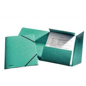 Prešpánový obal s gumičkou Esselte zelený