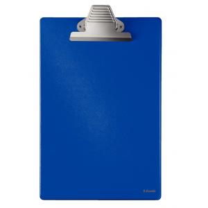 Písacia podložka A4 Esselte s mamuťou sponou modrá