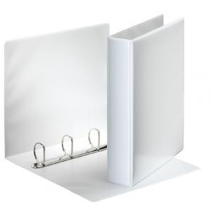 Zakladač prezentačný Esselte 6,2cm 4D-krúžkový biely