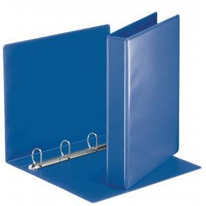 Zakladač 4-krúžkový prezentačný s D-krúžkom 5,1 cm modrý