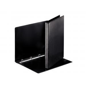 Zakladač 4-krúžkový prezentačný 3cm čierny