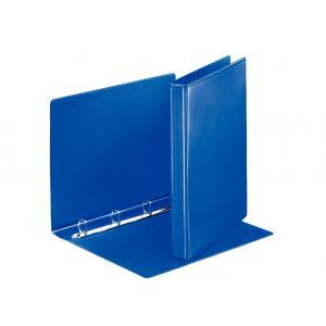 Zakladač 4-krúžkový prezentačný s D-krúžkom 3,8cm modrý