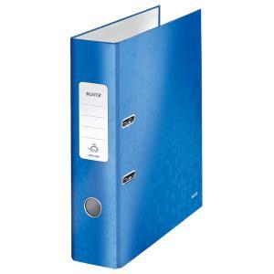 Zakladač pákový Leitz 180° WOW 8cm modrý