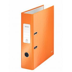 Zakladač pákový Leitz 180° WOW 8cm oranžový