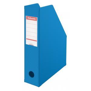Stojan na časopisy Esselte VIVIDA 7cm modrý