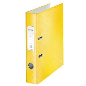 Zakladač pákový Leitz 180° WOW 5cm žltý