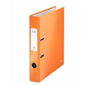 Zakladač pákový Leitz 180° WOW 5cm oranžový
