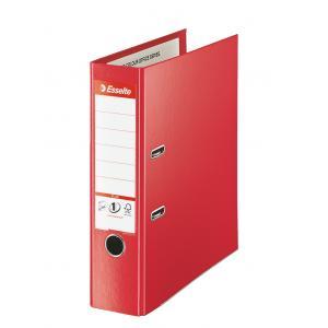 Zakladač pákový Esselte celoplastový A4 MAXI 8cm červený