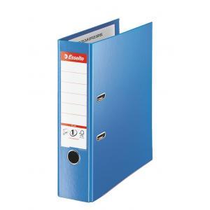Zakladač pákový Esselte celoplastový A4 MAXI 8cm modrý
