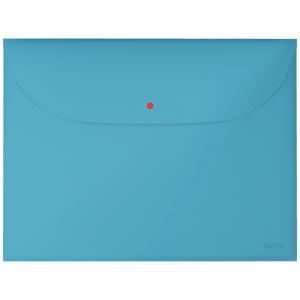 Plastový obal A4 s cvočkom Leitz Cosy kľudná modrá 3 ks