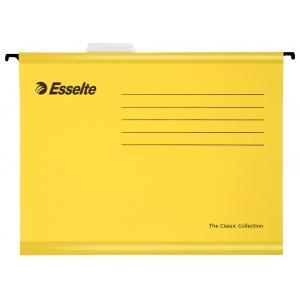 Závesný obal Esselte Classic žltý