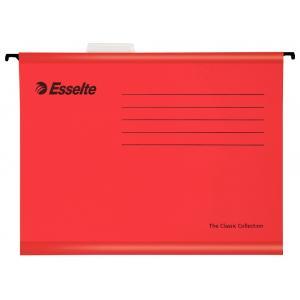 Závesný obal Esselte Classic červený