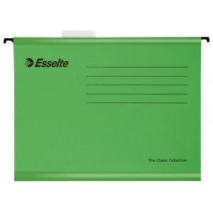 Závesný obal Esselte Classic zelený
