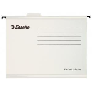 Závesný obal Esselte Classic biely