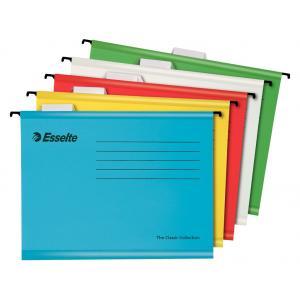 Závesný obal Esselte Classic mix farieb