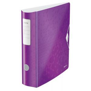 Zakladač pákový Leitz 180° Active WOW 8,2cm purpurový