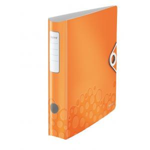 Zakladač pákový Leitz 180° Active WOW 6,5cm oranžový