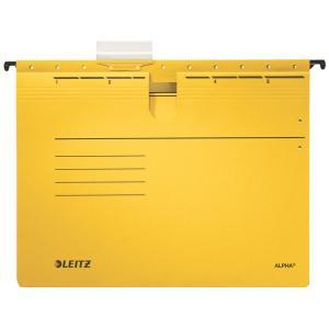 Závesný obal Leitz s rýchloviazačom žltý