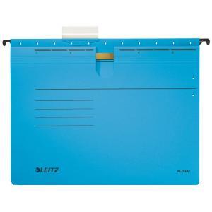 Závesný obal Leitz s rýchloviazačom modrý