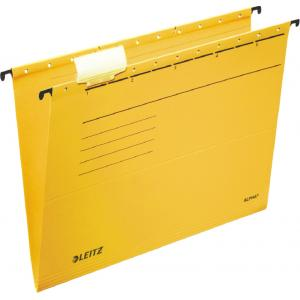 Závesný obal Leitz ALPHA žltý