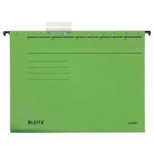 Závesný obal Leitz ALPHA zelený