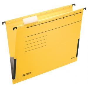 Závesný obal Leitz ALPHA s bočnicami žltý