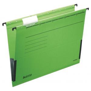 Závesný obal Leitz ALPHA s bočnicami zelený