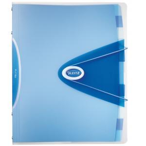 Triediaca kniha 12 Leitz Allura modrá