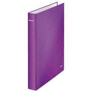 Zakladač 2-krúžkový WOW metalický purpurový