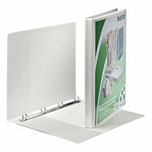 Zakladač prezentačný Leitz 3,0cm 4D-krúžkový A4 MAXI biely