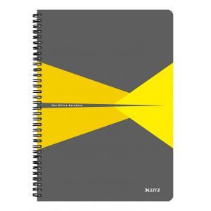 Blok College Leitz Office A5 90 listov linajkový žltý