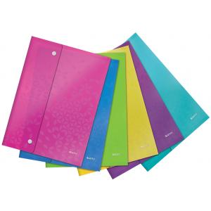 Plastový obal s cvočkami Leitz WOW mix farieb