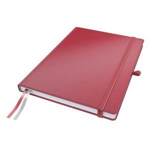 Zápisník štvorčekový A4 Leitz Complete červený