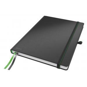 Zápisník linajkový A4 Leitz Complete čierny