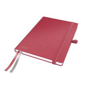 Zápisník linajkový A5 Leitz Complete červený