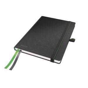 Zápisník linajkový A5 Leitz Complete čierny