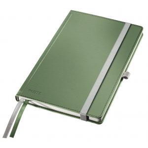 Zápisník linajkový A5 Leitz Style tvrdé dosky zelenkavý