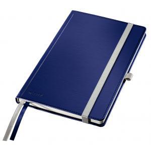 Zápisník linajkový A5 Leitz Style tvrdé dosky titánovo modrý