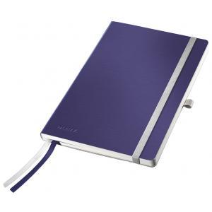 Zápisník linajkový A5 Leitz Style titánový modrý