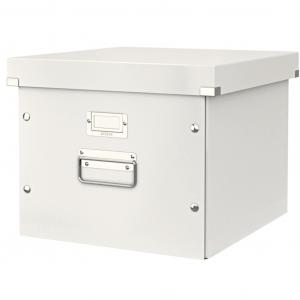 Škatuľa na závesné obaly Leitz Click & Store biela