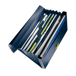 Aktovka na spisy Leitz Recycle petrolejovo modrý