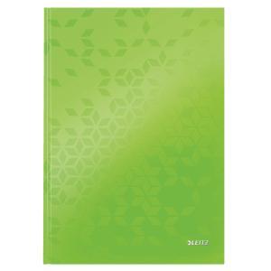 Záznamová kniha Leitz WOW A4 80 listov linajková zelená