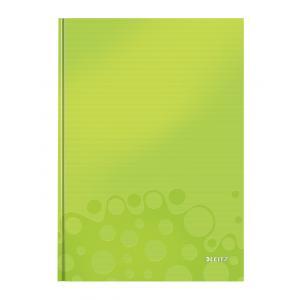 Záznamová kniha Leitz WOW A4 80 listov štvorčeková zelená