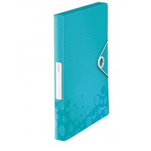 Box na dokumenty WOW metalicky ľadovo modrý