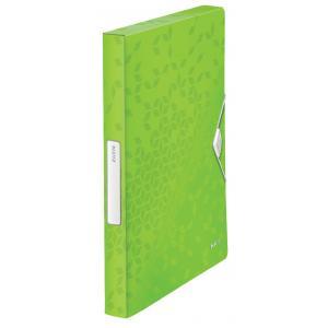 Box na dokumenty WOW metalicky zelený